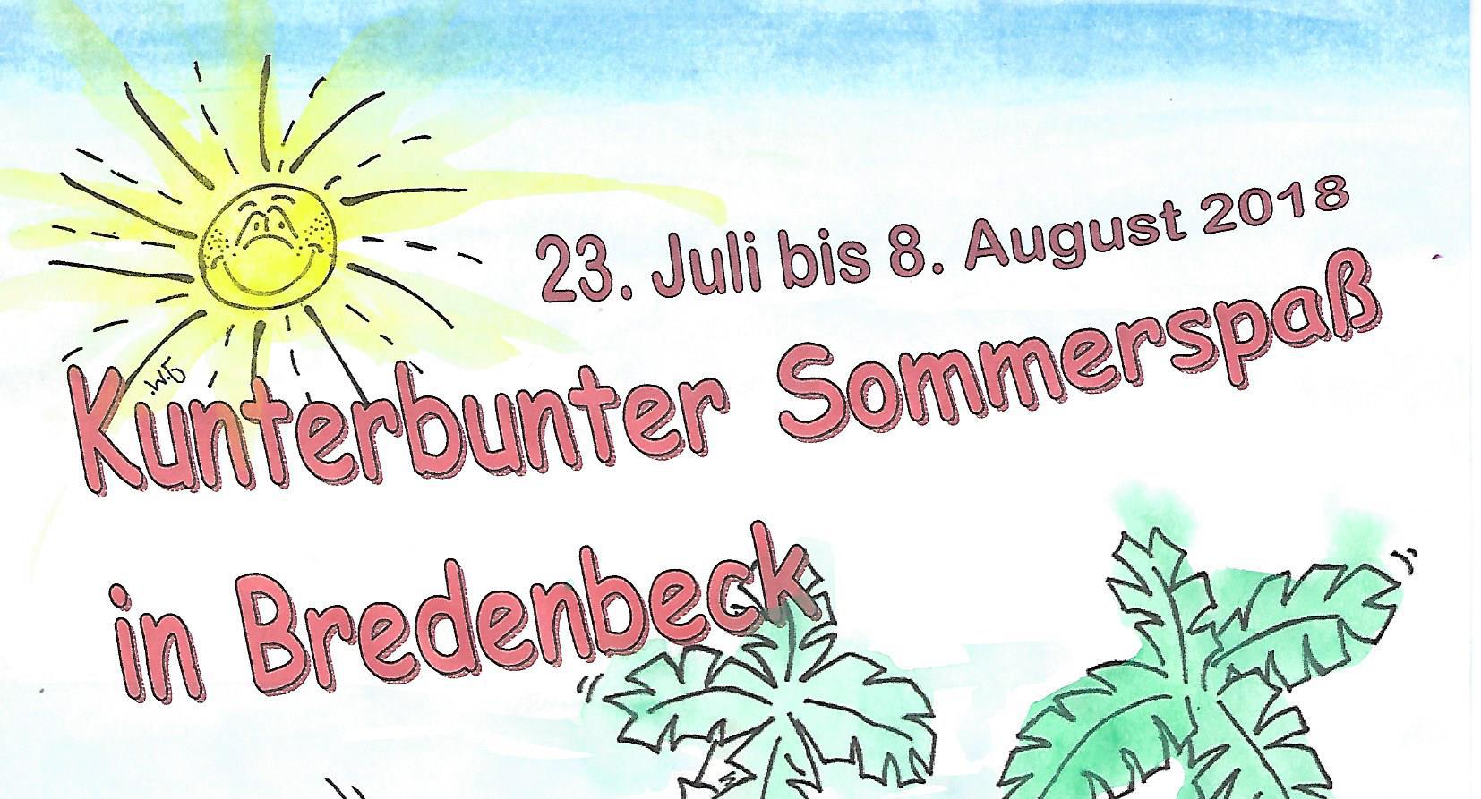 Kunterbunter Sommerspaß