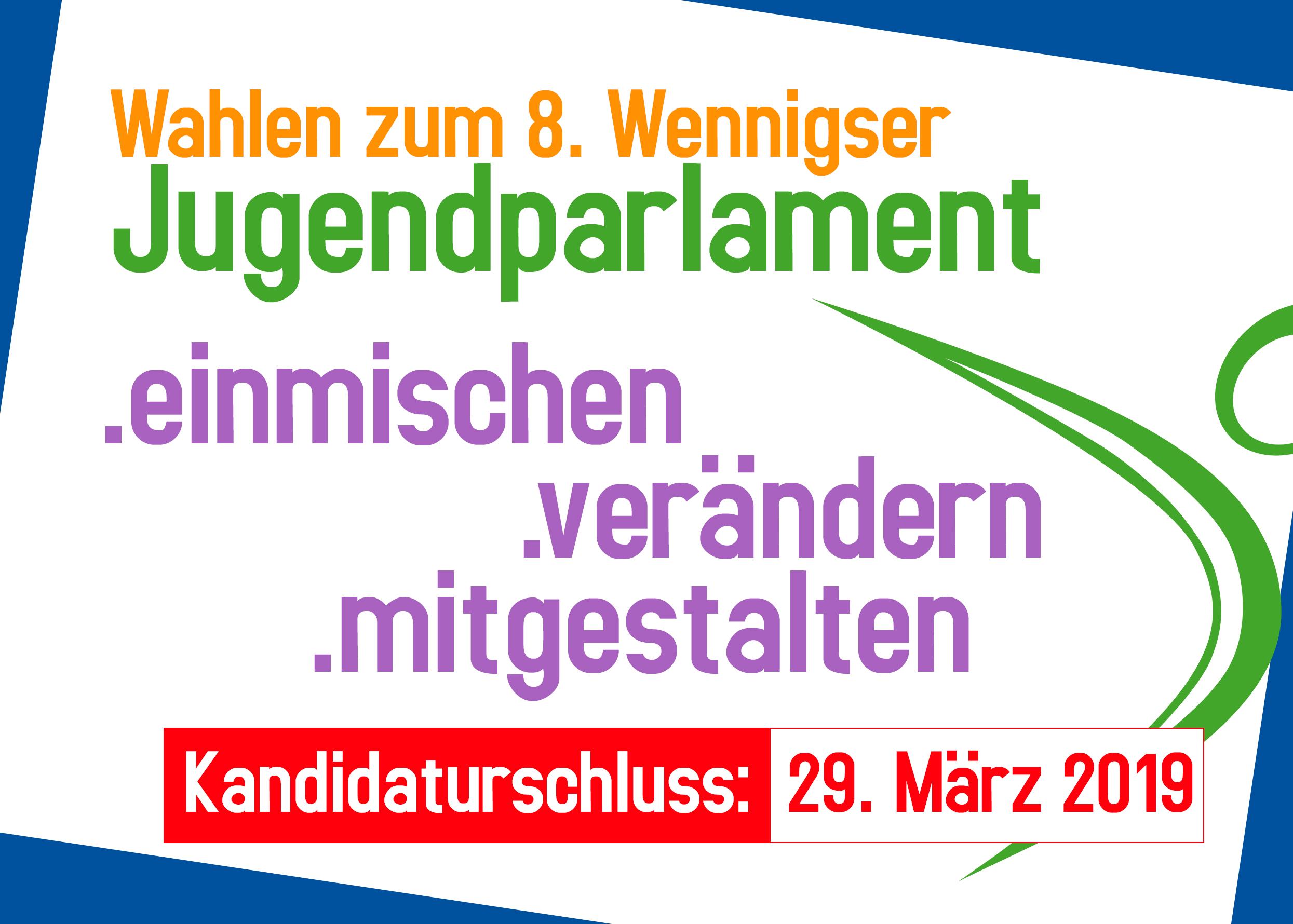 Wahlen zum 8. Wennigser Jugendparlament: Kandidaturfrist endet