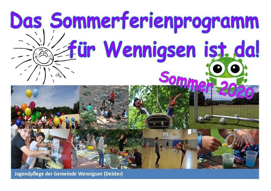 Ferienprogramm startet Anmeldungen