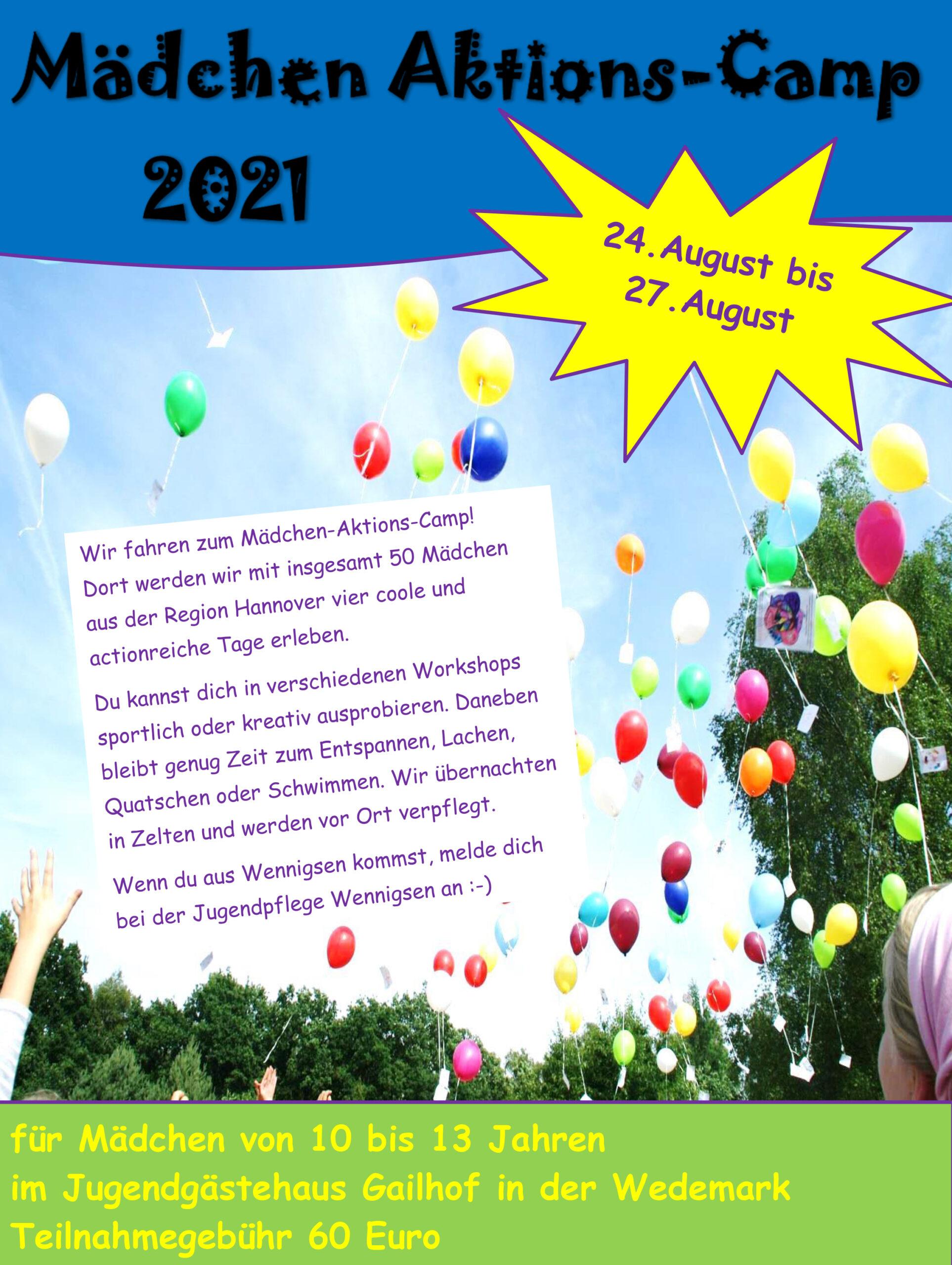 Mädchen-Aktions-Camp 2021